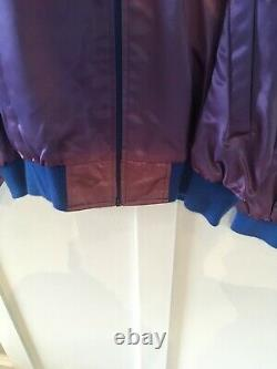 1991 Vintage STAR TREK 25th Anniv Embroidered Satin Jacket Mens XL Paramount