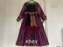 19th Century A Line Genuine Antique Afghan Dress from Rau Rau Hippy Boho Unique