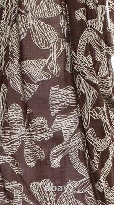 $2200 NEW CHANEL Vintage Logo Print DRESS Top Swimsuit Shirt 34 36 38 2 4 6 8 M