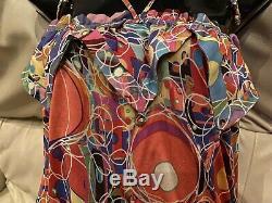3k CHANEL 08p Vintage Logo Gold Print Mini DRESS 34 36 38 40 2 4 6 8 Top Jacket