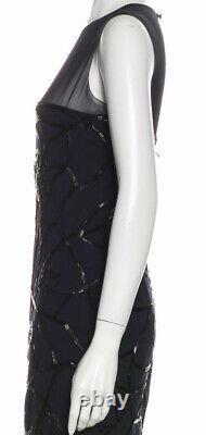 $4,400 Chanel VINTAGE 97a Black Cocktail Dress Top 36 38 40 4 6 8 S M L Gift Bag