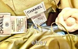 $5130 CHANEL 2000 Vintage Green Top Skirt Set 36 38 40 4 6 8 Suit Dress Gown S M