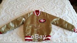 80's Vintage 49er's Chalk Line Jacket (small)