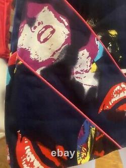 $970 VERSACE VINTAGE Marilyn Monroe Mini Skirt NWT Dress Top 38 40 42 2 4 6 S m