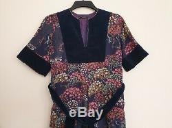 ANNA BELINDA OXFORD Womens Vintage Summer Boho Dress with Lining Size S / M