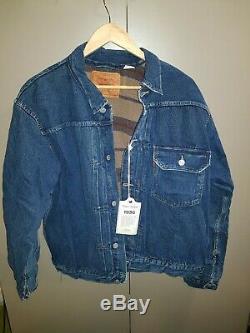 BNWT LVC Levi's Vintage Clothing 506XX Type 1 Lined Jacket 1936 Size 42 Large