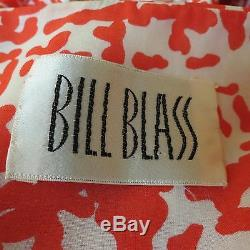 Beautiful Womens Vintage Bill Blass Long Evening Dress Gown & Jacket Size 4/6/8