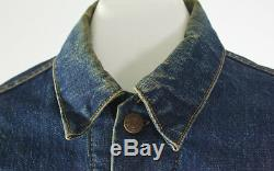 Big E Levis Mark 3 Troy Blanket Lined Distressed Jacket Fits Like Small