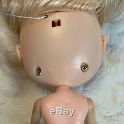 Blythe Kenner Doll Color Changing Eyes Blonde 6 Lines 1972 Dress Tagged vtg GUC