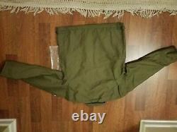 Branson USN A-2 Deck Jacket Jungle Cloth Vintage Cold Military Uniform New