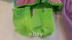 Cabbage Patch Designer Line Outfit Shoes HTF Socks Club Cabbage Clothes Undies