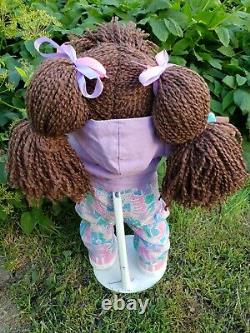 Cabbage Patch Kid HTF Hasbro Designer Line HTF African American-Paci-Clothes