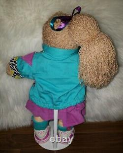 Cabbage Patch Kid- Hasbro Designer Line -Wheat Side Pony Girl-Blue Eyes-Clothes