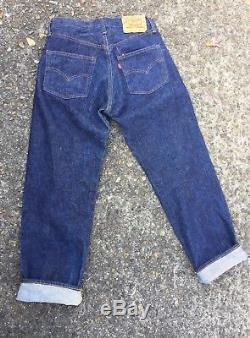 DEAD STOCK Vintage 70s Levi's 501 Redlines Red Lines Jeans (30 29) NO BIG E
