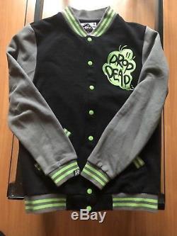DROP DEAD (RARE) Vintage Varsity Jacket Oli Sykes Clothing Line BMTH