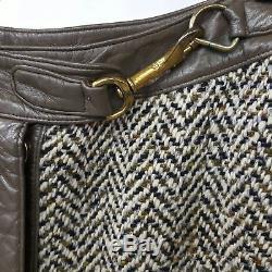 Designer Vintage 1960s BONNIE CASHIN Clip Closure Snap Front A-Line Skirt
