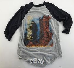Dio Vintage 1984 Last in Line Concert T-Shirt Raglan 50/50 (L/XL 29x21)