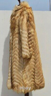 ECHTER PELZ GEPRUFTE QUALITAT FARMER Mens Real fur coat Vintage mountaingoat