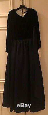 En Francais by Huey Waltzer Vintage Evening Gown Dress Velvet Size 16 (NEW)