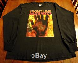 FRONT LINE ASSEMBLY 1995 T-shirt Skinny Puppy KMFDM Front 242 WUMPSCUT Covenant