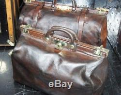 Finnigans Leather Lined Medium Gladstone Bag