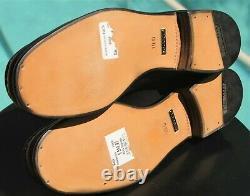 GUCCI Men's black Leather TOM FORD ERA Dress shoes Size 10 D