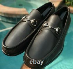 GUCCI Men's dark brow color Leather TOM FORD ERA Dress shoes Size 10.5 D