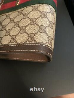 Gucci Vintage GG Monogram Web Small Clutch Bag
