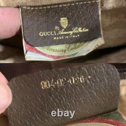 Gucci Vintage GG Supreme Monogram Shoulder Bag
