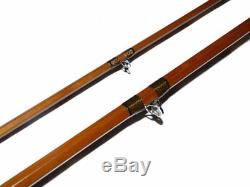 Hardy Glen Casley Neo Cane 10' 2 piece trout fly rod with cloth bag line 7