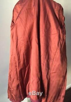 Harris Tweed Scottish Wool Vintage 80s Plaid Midi A-Line Swing Jacket Coat ML