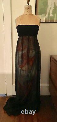 Iconic Dolce and Gabbana Designer Vintage 1990 Original Evening Dress Authentic