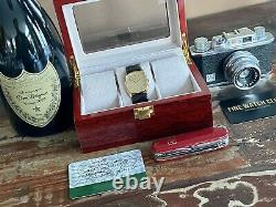 International Watch Company Da Vinci Line IWC Vintage Mens dress Gold watch