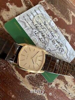 International Watch Company Da Vinci Line IWC Vintage Mens dress Gold watch