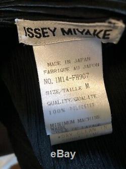 Issey Miyake Main Line Vintage Pleated Dress Size Medium Black Totokaelo