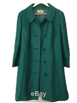 JEAN PATOU PARIS WOMEN SUIT DRESS/ VINTAGE DESIGNER 50'S/60'S/Size UK 12L