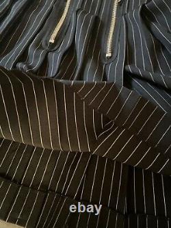 Jean Paul Gaultier Vintage Black & White Stripped Dress 46 L