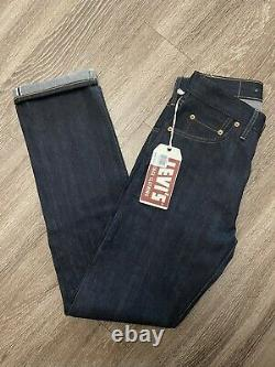 LEVIS 505-0217 1967 LVC VINTAGE CLOTHING 505 Red line Selvedged Jeans 30x32