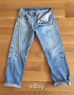 LEVIS TRUE VINTAGE 70's 501 XX Red Line Selvedge Denim Jeans fits 28 x 28 USA