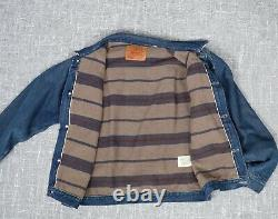 LVC Levi Vintage Clothing 1936 506xx Type 1 lined trucker jacket 34498-0000