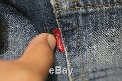 LVC Levis Vintage Clothing Mens 34 x 34 501XX Selvedge Big E Red Line Jeans B323