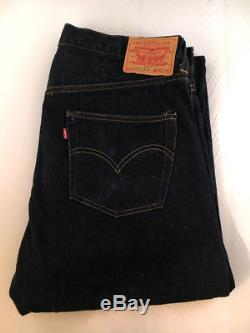 Levi's 551zxx Selvedge Denim Made In USA 36/34 In Mint Condition Big E Red Line