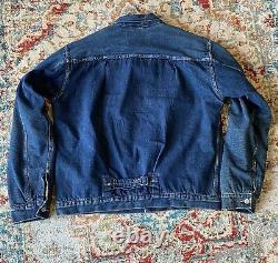 Levi's Vintage Clothing LVC 1936 Type 1 I Denim Jacket Size Large 42 not 501xx