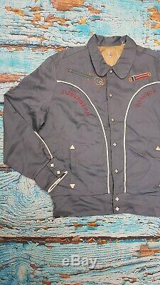 Levi's Vintage Clothing LVC 1950's Silk Lined Suburban Cowboy Jacket £375 46 L