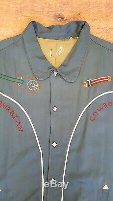Levi's Vintage Clothing LVC 1950's Silk Lined Suburban Cowboy Jacket £375 XL