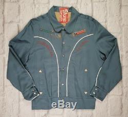 Levi's Vintage Clothing LVC 1950's Silk Lined Suburban Cowboy Jacket Medium £375