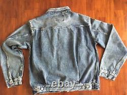 Levis 507 Vintage ClothinG Type II XX BIG E Selvedge Cone Denim Jacket (S)$385