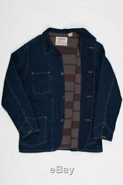 Levis LVC Levi's Vintage Clothing 1920s Sack Coat Blanket Lined Rinse XL xxl 50