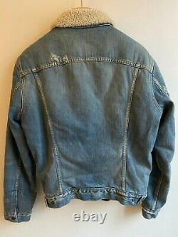 Levis Vintage Clothing 1967 Type III Sherpa Lined Trucker Jacket Nwt M