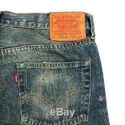Levis Vintage Clothing Big E LVC 501XX Jeans Mens 32x34 Selvedge Red Line